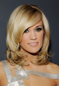 Carrie Underwood arrives at the 52nd Annual GRAMMY Awards held at Staples Center on January 31st 2010 in Los Angeles California 7