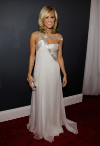 Carrie Underwood arrives at the 52nd Annual GRAMMY Awards held at Staples Center on January 31st 2010 in Los Angeles California 1