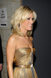 Carrie Underwood backstage during the 52nd Annual GRAMMY Awards held at Staples Center on January 31st 2010 in Los Angeles California 1