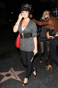 JoJo spotted on October 27th 2009 partying at Bardot in Hollywood 8
