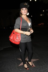 JoJo spotted on October 27th 2009 partying at Bardot in Hollywood 6