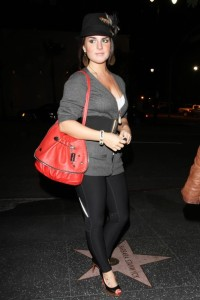 JoJo spotted on October 27th 2009 partying at Bardot in Hollywood 4