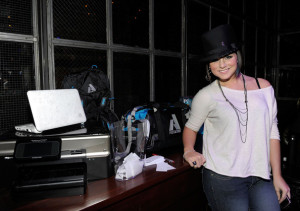JoJo attends Summit on the Summit Kilimanjaro Pre Ascent Event held at Voyeur on December 9th 2009 in West Hollywood 2