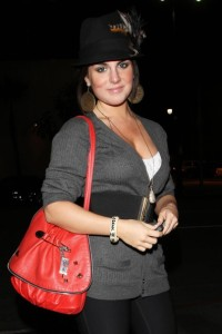 JoJo spotted on October 27th 2009 partying at Bardot in Hollywood 3