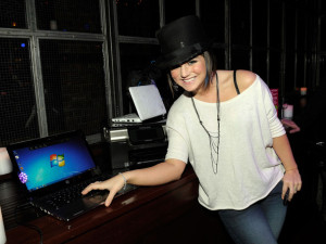 JoJo attends Summit on the Summit Kilimanjaro Pre Ascent Event held at Voyeur on December 9th 2009 in West Hollywood 3