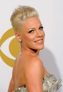 Pink in the press room during the 52nd Annual GRAMMY Awards held at Staples Center on January 31st 2010 5