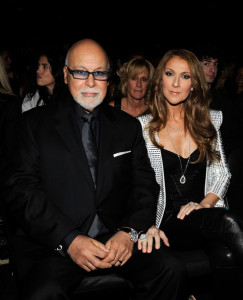 Celine Dion and her husband Rene Angelil in the audience during the 52nd Annual GRAMMY Awards held at Staples Center on January 31st 2010 in Los Angeles California 1