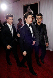 Jonas Brothers arrive at the 52nd Annual GRAMMY Awards held at Staples Center on January 31st 2010 in Los Angeles California 2