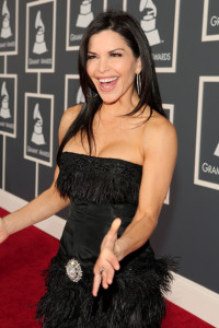 Lauren Sanchez arrives at the 52nd Annual GRAMMY Awards held at Staples Center on January 31st 2010 in Los Angeles California