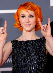 Hayley Williams arrives at the 52nd Annual GRAMMY Awards held at Staples Center on January 31st 2010 in Los Angeles California