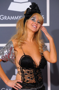 Nadeea arrives at the 52nd Annual GRAMMY Awards held at Staples Center on January 31st 2010 in Los Angeles California