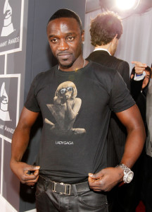 Akon arrives at the 52nd Annual GRAMMY Awards held at Staples Center on January 31st 2010 in Los Angeles California