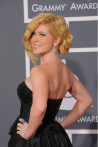 Kristine Elezaj arrives at the 52nd Annual GRAMMY Awards held at Staples Center on January 31st 2010 in Los Angeles California