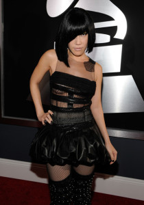 Sun arrives at the 52nd Annual GRAMMY Awards held at Staples Center on January 31st 2010 in Los Angeles California