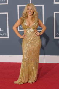 Stefani Montiel arrives at the 52nd Annual GRAMMY Awards held at Staples Center on January 31st 2010 in Los Angeles California