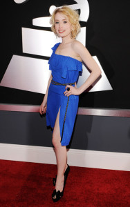 Alexis Grace arrives at the 52nd Annual GRAMMY Awards held at Staples Center on January 31st 2010 in Los Angeles California