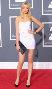 Amalie Wichmann arrives at the 52nd Annual GRAMMY Awards held at Staples Center on January 31st 2010 in Los Angeles California