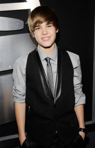 Justin Bieber arrives at the 52nd Annual GRAMMY Awards held at Staples Center on January 31st 2010 in Los Angeles California 3
