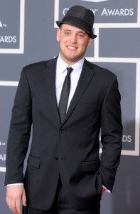 Matt Giraud arrives at the 52nd Annual GRAMMY Awards held at Staples Center on January 31st 2010 in Los Angeles California