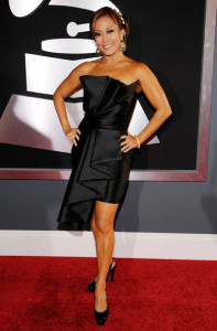 Carrie Ann Inaba arrives at the 52nd Annual GRAMMY Awards held at Staples Center on January 31st 2010 in Los Angeles California