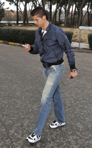 Cristiano Ronaldo was spotted on the steets of Madrid on his 25th birthday February 5th 2010 in Spain 4