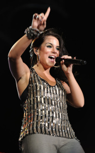 JoJo performs at the Pepsi Super Bowl Fan Jam on February 4th 2010 in Miami Beach Florida 5