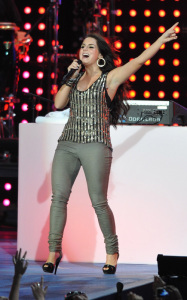 JoJo performs at the Pepsi Super Bowl Fan Jam on February 4th 2010 in Miami Beach Florida 4