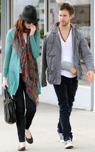 Anne Hathaway and her boyfriend Adam Shulman seen together while shopping for furniture on February 3rd 2010 in West Hollywood 2