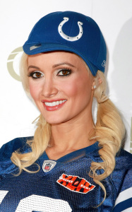Holly Madison hosted Holly Bowl at LAVO Nightclub on February 6th 2010 at Palazzo Resort Hotel Casino in Las Vegas 1