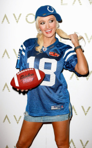 Holly Madison hosted Holly Bowl at LAVO Nightclub on February 6th 2010 at Palazzo Resort Hotel Casino in Las Vegas 4