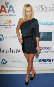 Jenny McCarthy at the 4th annual Saturday Night Spectacular celebration on February 6th 2010 at The Bank of America Tower in Miami 3