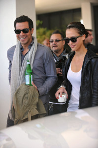 Jessica Alba and her husband Cash Warren seen together as they left their South Beach hotel to attends the Super Bowl XLIV on February 7th 2010 at the Sun Life Stadium in Miami Gardens Florida 4
