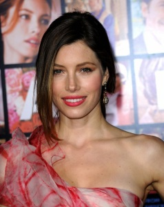 Jessica Biel attends the movie premiere of Valentines Day held on February 8th 2010 at Graumans Chinese Theatre in Hollywood 2
