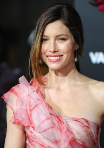 Jessica Biel attends the movie premiere of Valentines Day held on February 8th 2010 at Graumans Chinese Theatre in Hollywood 1