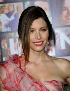 Jessica Biel attends the movie premiere of Valentines Day held on February 8th 2010 at Graumans Chinese Theatre in Hollywood 4