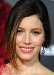 Jessica Biel attends the movie premiere of Valentines Day held on February 8th 2010 at Graumans Chinese Theatre in Hollywood 3