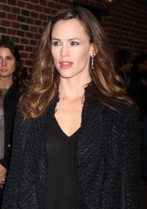 Jennifer Garner spotted arriving to the studio of the Late Show with David Letterman on February 10th 2010 in New York 5