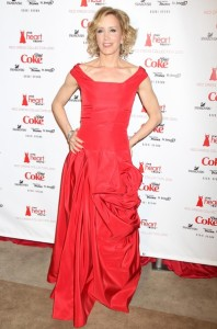 Felicity Huffman attends The Heart Truth Red Dress Collection Fall 2010 during the Mercedes Benz Fashion Week at Bryant Park on February 11th 2010 in New York City 1