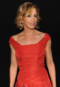 Felicity Huffman attends The Heart Truth Red Dress Collection Fall 2010 during the Mercedes Benz Fashion Week at Bryant Park on February 11th 2010 in New York City 5