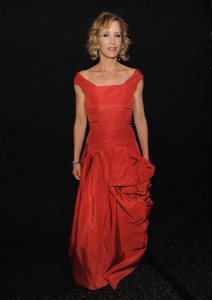 Felicity Huffman attends The Heart Truth Red Dress Collection Fall 2010 during the Mercedes Benz Fashion Week at Bryant Park on February 11th 2010 in New York City 3