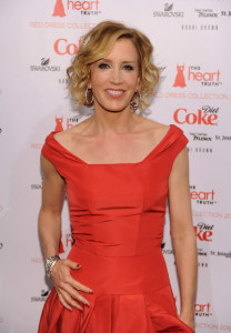 Felicity Huffman attends The Heart Truth Red Dress Collection Fall 2010 during the Mercedes Benz Fashion Week at Bryant Park on February 11th 2010 in New York City 4