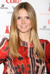Heidi Klum attends The Heart Truth Red Dress Collection Fall during the Mercedes Benz Fashion Week at Bryant Park on February 11th 2010 in New York City 1