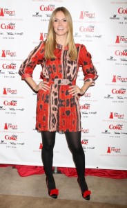 Heidi Klum attends The Heart Truth Red Dress Collection Fall during the Mercedes Benz Fashion Week at Bryant Park on February 11th 2010 in New York City 5