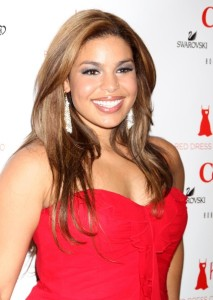 Jordin Sparks attends The Heart Truth Red Dress Collection Fall during the Mercedes Benz Fashion Week at Bryant Park on February 11th 2010 in New York City 2