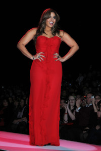 Jordin Sparks attends The Heart Truth Red Dress Collection Fall during the Mercedes Benz Fashion Week at Bryant Park on February 11th 2010 in New York City 5