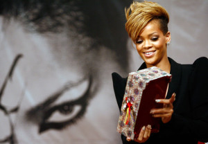 Rihanna at a press conference held on February 11th 2010 at the Intercontinental hotel in Seoul South Korea 5
