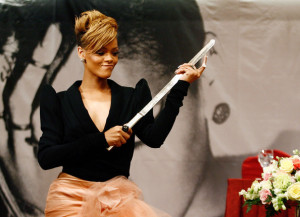 Rihanna at a press conference held on February 11th 2010 at the Intercontinental hotel in Seoul South Korea 2
