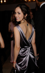 Eliza Dushku attends the amfAR New York Gala during the Fall 2010 Fashion Week at Cipriani 42nd Street on February 10th 2010 in New York City 1