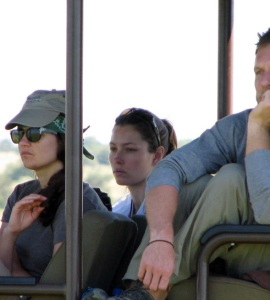 Jessica Biel picture on January 19th 2010 while at the African safari vacation 1