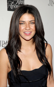 Jessica Szohr spotted at the launch of CHOO 247 on February 11th 2010 at Saks Fifth Avenue in New York City 1
